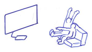 desenho TV anuncio